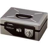 CARL Cash Box 8 inch [CB-8300] - Silver - Cash Box